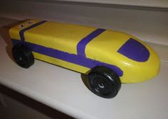 Bullet Train Pinewood Derby Car