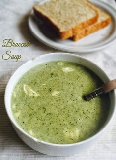 Soups are my all-time favorite! This broccoli soup is a wholesome, creamy, healthy soup for toddlers and kids. Broccoli is a healthy vegetable as its rich in Vi Broccoli Soup Recipes, Healthy Soup Recipes, Healthy Foods, Toddler Meals, Kids Meals, Toddler Recipes, Toddler Food, Soup For Babies, Indian Baby Food Recipes