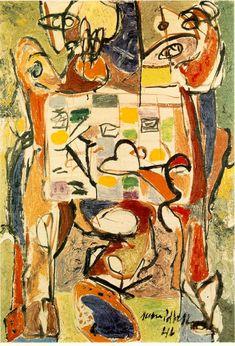 The Tea Cup - Jackson Pollock