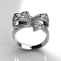 Tiffany Bow Ring.