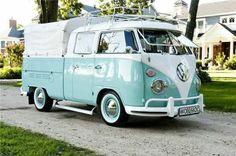 Photo: VW Dopplekabine Pritschenwagen, 1966