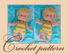 Antoshka  Amigurumi Crochet Pattern PDF file by Anna