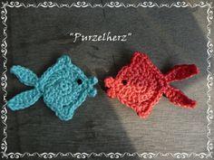 """*** Fisch """" Knutschende Kugelfische """" ***  von Purzelherz auf DaWanda.com"""