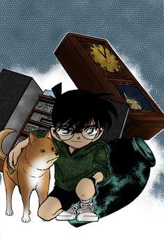 file 292 by Immedicmichi on DeviantArt Detective Conan Wallpapers, Lapidot, Magic Kaito, Case Closed, Stargazing, Favorite Tv Shows, Badge, Anime Art, Deviantart