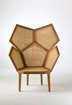Lui5 Highback Chairs by Phillippe Bestenheider
