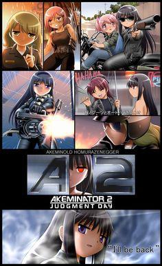 b2f50c1ff34a7ec8aec5062cbd9fa6b61384049361 full Posters parodiam filmes com Madoka Magica