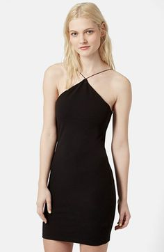 Topshop Strappy Body-Con Dress available at #Nordstrom