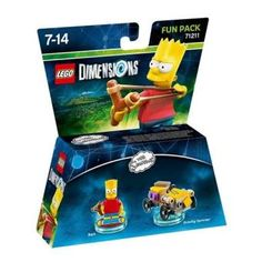 Figurine Lego Dimensions Fun Pack Bart Simpson Les Simpson