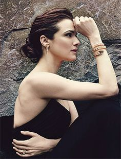 Rachel Weisz for Bvlgari  photographed by Annie Leibovitz
