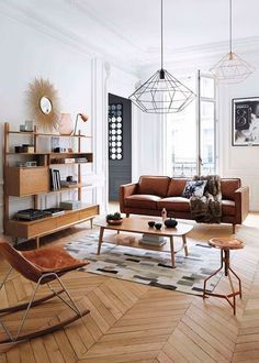 Best Scandinavian Home Design Ideas. The Best of inerior design in - Interior Design Ideas for Modern Home - Interior Design Ideas for Modern Home Mid Century Living Room, Mid Century House, Home Living Room, Living Room Designs, Living Room Decor, Apartment Living, Century Hotel, 1960s Living Room, Decor Room