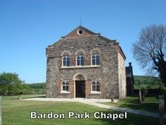 Bardon Park Chapel is set in a pleasant rural location. National Forest, Mansions, Park, History, Architecture, House Styles, Places, Pictures, Mansion Houses