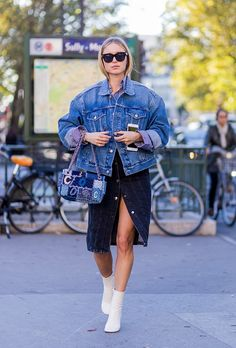 40 Maternity outfit ideas to copy | Pregnant street style | Pernille Teisbaek
