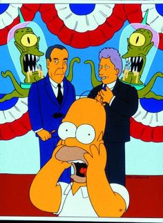 Treehouse of Horror VII Citizen Kane promo card