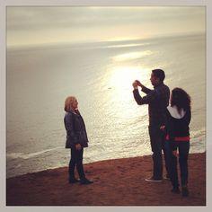 En el Morro Solar con Mari, Karen y Fito.