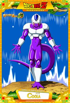 Dragon Ball Z - Coola by DBCProject on DeviantArt