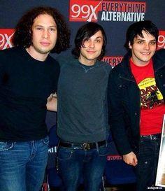 My Chemical Romance. Ray Toro, Frank Iero, Gerard Way