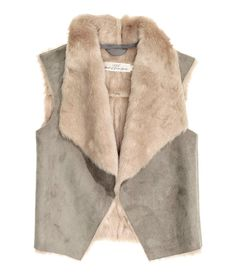 Pin for Later: The Back-to-School Pieces Your Kids Will Want in Their Closets This Year H&M Faux Fur Vest Faux Fur Vest ($30)