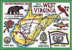 West Virginia....Charleston and Morgantown The New Rivier Gorge Bridge and The Morgantown Brewing Company