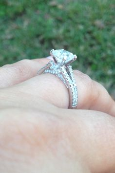 princess cut engagement ring - Macy Wedding Rings