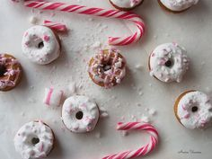 Peppermint Donuts