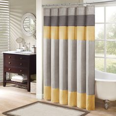 Amherst Shower Curtain Madison Park