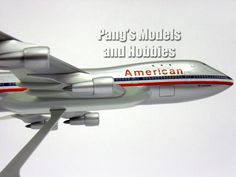Boeing 747-100 American 1/200 by Flight Miniatures