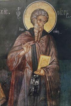 Saint Lazarus the Painter: An Iconographer During the Iconoclast Period Byzantine Icons, Byzantine Art, Tempera, Fresco, Saint Lazarus, Russian Icons, Religious Paintings, Best Icons, Religious Icons