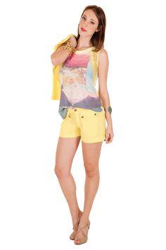 12328 - Blusa   05535 - Shorts
