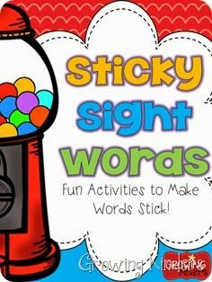 awesome sight word ideas! practice sight words all day long!