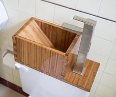 A single toilet flush uses about 3 gallons (13.5 Liters) of potable water. This project re-routs the fresh water that fills the toilet tank through a hand washing...