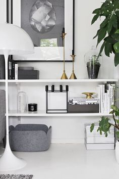 Scandi shelving