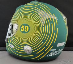 EJ Viso helmet by IZOD IndyCar Series, via Flickr