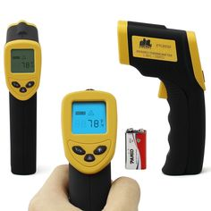 Etekcity Non-Contact Infrared Thermometer Digital Temperature Gun w/ Laser Sight $14
