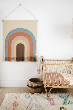 14 Trendy Bedroom Design and Decor Ideas for Your Next Makeover - The Trending House Trendy Bedroom, Kids Bedroom, Girl Nursery, Nursery Decor, Nursery Ideas, Babyshower, Three Birds Renovations, Bohemian Nursery, Art Nouveau