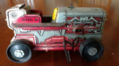 EC AS-IS Vintage Marx Tin Litho Windup Toy Tractor Diesel 12 USA parts only | Toys & Hobbies, Vintage & Antique Toys, Wind-up Toys | eBay!