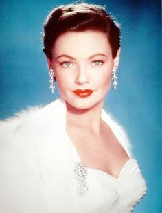 Gene Tierney - what a knockout!
