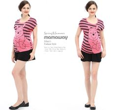 Disney Pooh Maternity and Breastfeeding Top Nomor produk:13818 #Maternitywear #Breastfeedingwear #Nursingwear