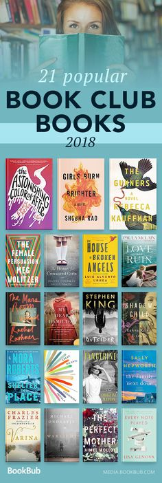 Popular book club books for women and men, including teen books, bestselling fiction, historical fiction, and more.