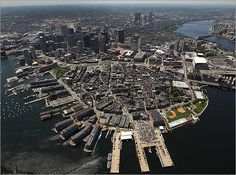 Waterfront and North End.
