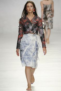 Claire Barrow RTW Spring 2014 [Photo by Giovanni Giannoni]