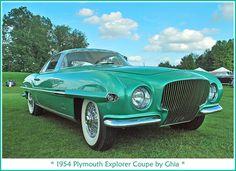 1954 Plymouth Explorer coupe Ghia                                                                                                                            More