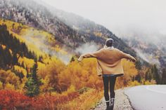 autumn, girl, and fall image Alice Ruiz, Boy Tumblr, To Infinity And Beyond, Michelangelo, Adventure Is Out There, Adventure Awaits, Go Outside, Oh The Places You'll Go, The Great Outdoors