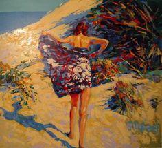 Art - Nicola Simbari - La Baigneuse