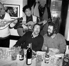 Lucio Dalla and Luciano Pavarotti