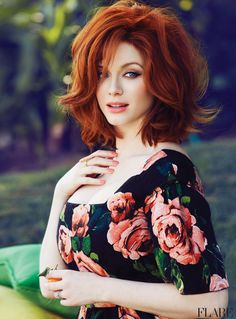 Hendricks on Hendricks - May 2013 / Photographer: Max Abadian Read now: Cover star Christina Hendricks shares her favourite designers, what playing Mad Mens Joan Harris taught her and what shed be doing if she wasnt an actress.