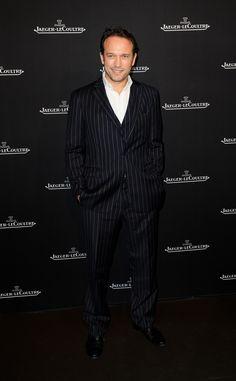 Vincent Perez at the Jaeger-LeCoultre Boutique inauguration