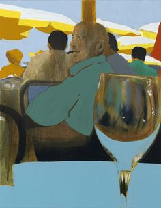 Kenneth Blom · Restaurant le César · 2013 · 90 x 70 cm