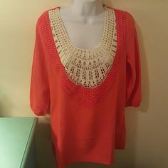 Umgee Lace Tunic Excellent Condition Only Worn Once umgee Tops Tunics