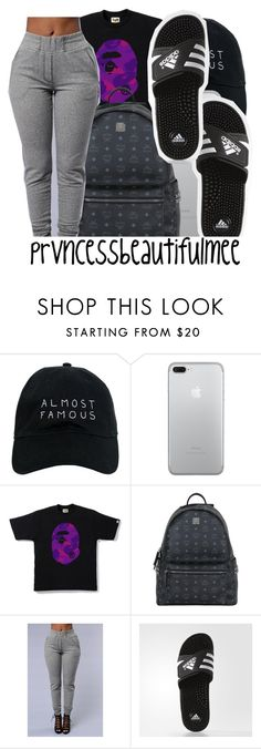 """""""merry christmas❣️"""" by prvncessbeautifulmee on Polyvore featuring Nasaseasons, MCM and adidas"""