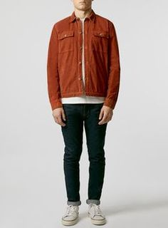 LTD Cord Rust Overshirt